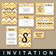 Wedding Invitation Set - Cards & Invites