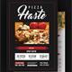 Food or Pizza Menu Flyer