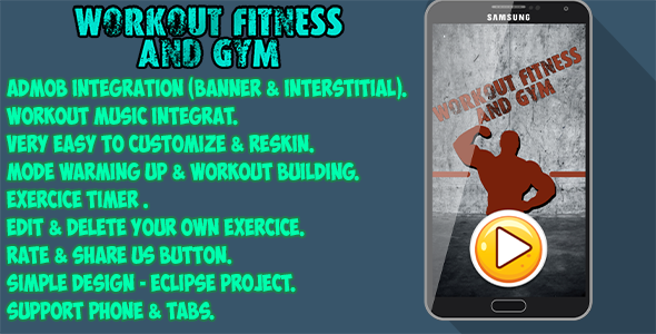 Workout fitness & GYM - CodeCanyon Item for Sale
