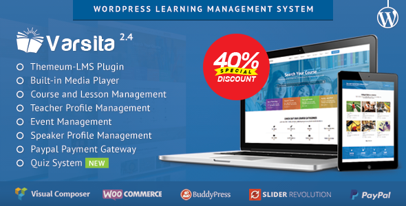 Varsita - WordPress Learning Management System