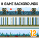 8 Game Backgrounds Set 12