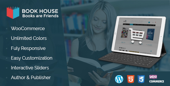 Book House WordPress – BookShop WP (WooCommerce) images