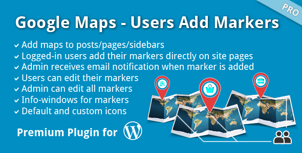 Google Maps – Customers Add Markers (Miscellaneous)