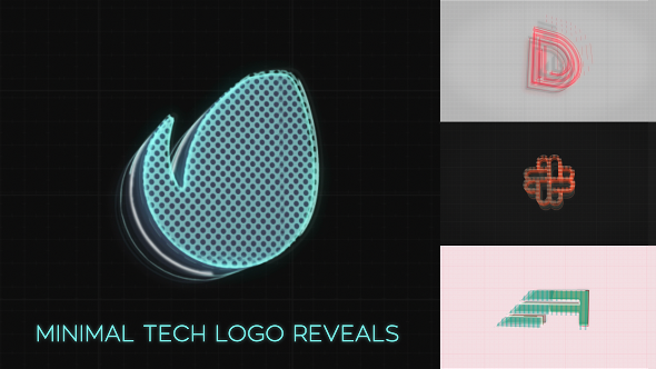 Videohive - Minimal Tech Logo Reveals 19792269 - Free Download