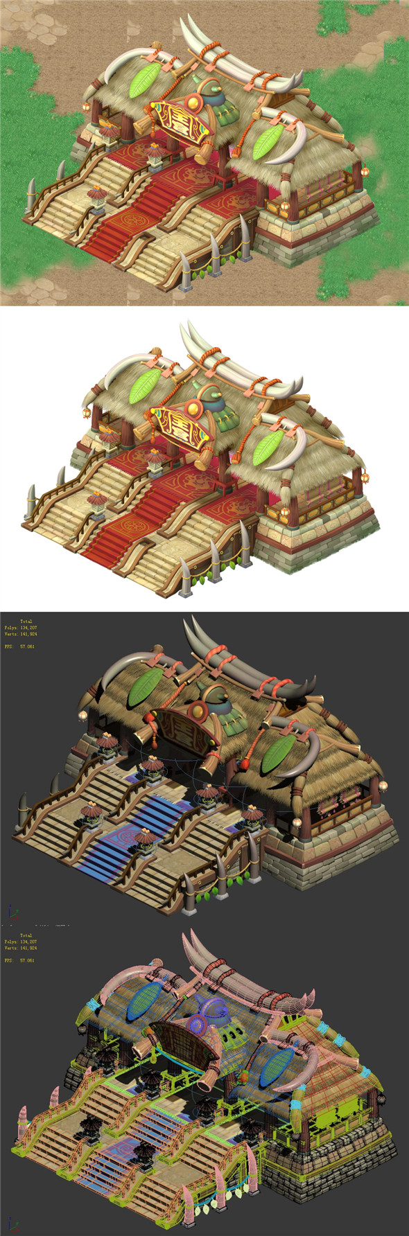 Cartoon World - Main Hall 04 - 3DOcean Item for Sale