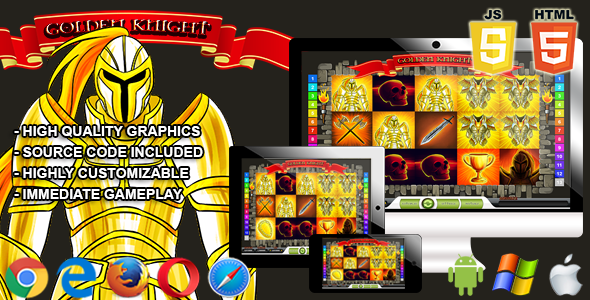 Golden Knight - HTML5 Casino Game