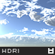 High Resolution Sky HDRi Map 034
