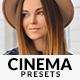 20 Pro Cinema Lightroom Presets