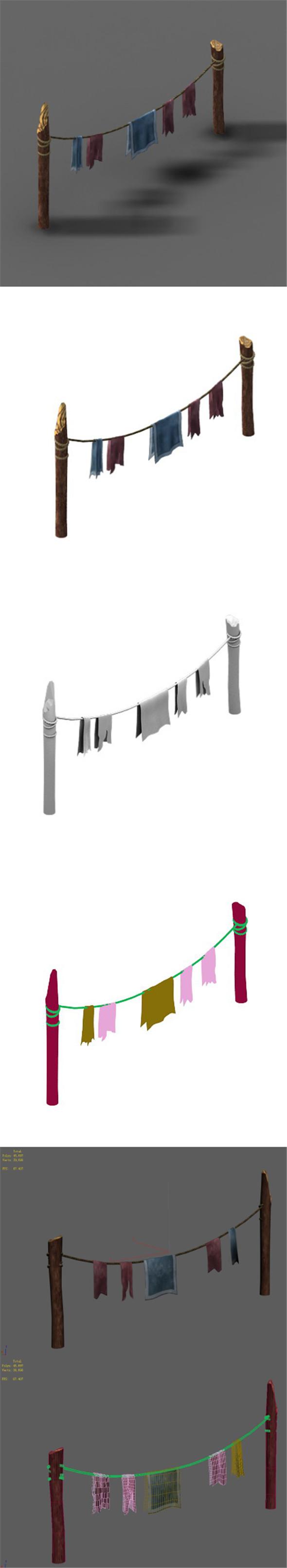 Railings 15 - 3DOcean Item for Sale