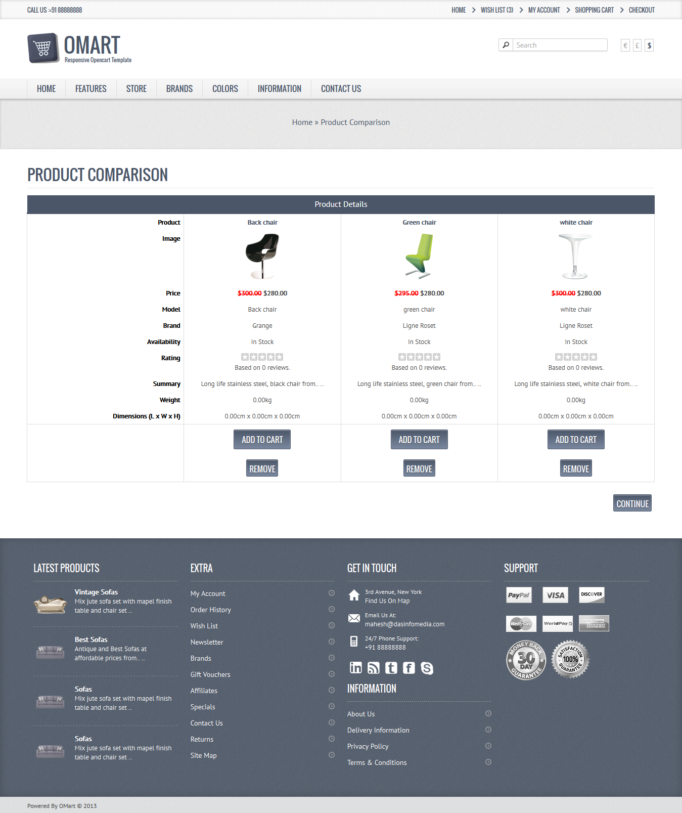 Omart Mobile Ready Opencart Theme By Dasinfomedia