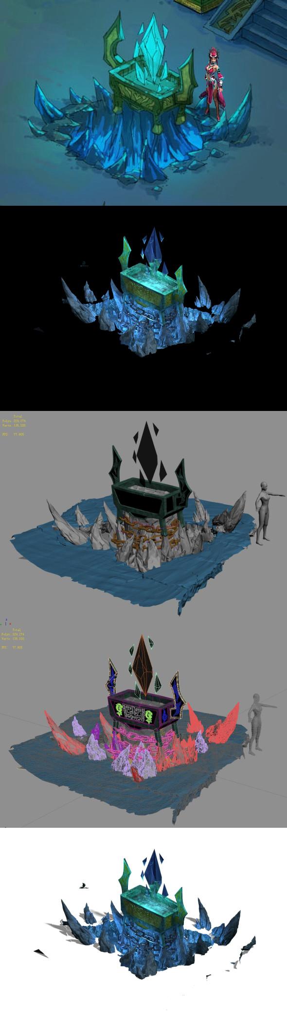 Magic territory - stove - 3DOcean Item for Sale