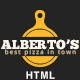 Albertos – Restaurant & Pizza HTML Template (Corporate)