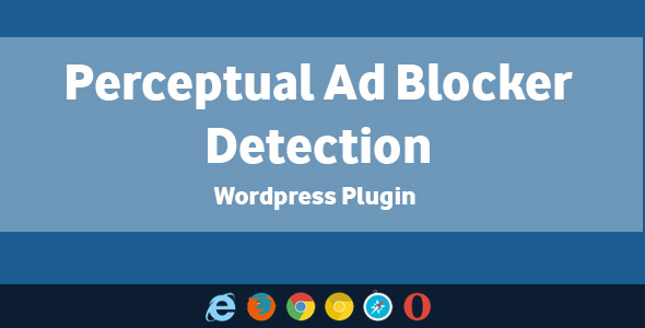 Perceptual Ad Blocker Detection – WordPress Plugin (Utilities) images