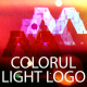Colorful Light Logo Reveal