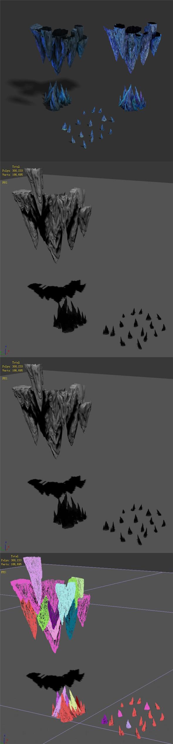 Magic territory - crystal - 3DOcean Item for Sale