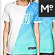 Woman Crew Neck T-shirt Mock-up