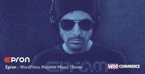 Epron - WordPress Massive Music Theme