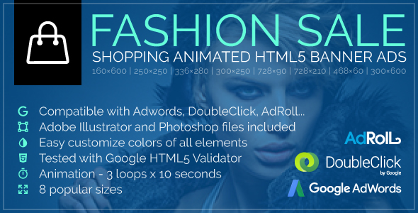 Style Sale – Purchasing Animated Google HTML5 Banner Advertisements (Ad Templates)