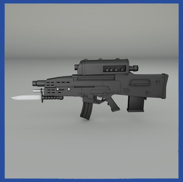 3DOcean XM-29 Combat Weapon 19798393