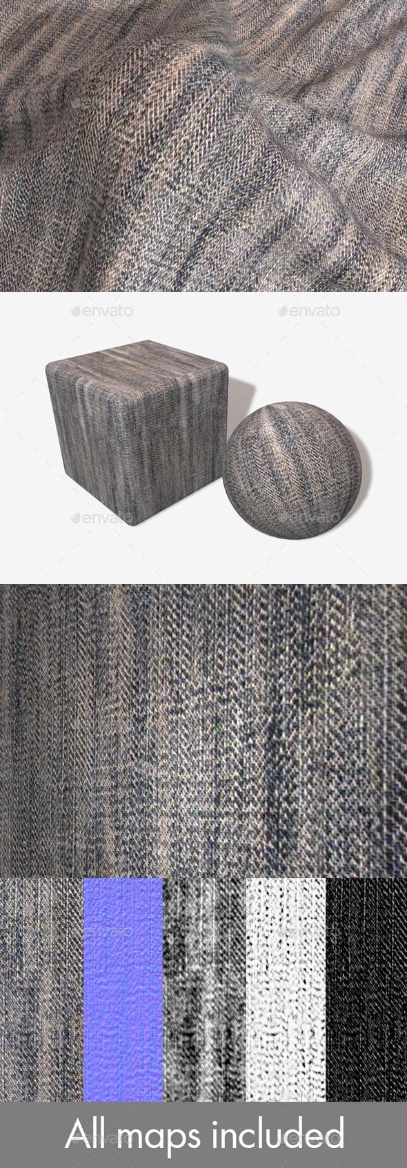 3DOcean Worn Denim Seamless Texture 19798419