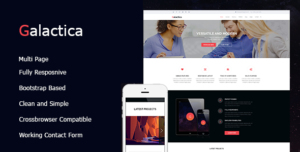 Galactica   Creative Multi-purpose WordPress Theme