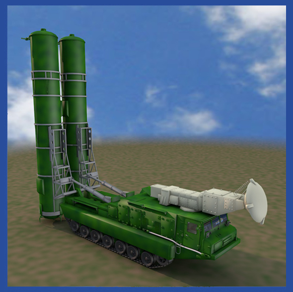 S300PMU Soviet Missle Launcher - 3DOcean Item for Sale