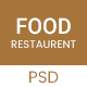 Food - Restaurant PSD Template