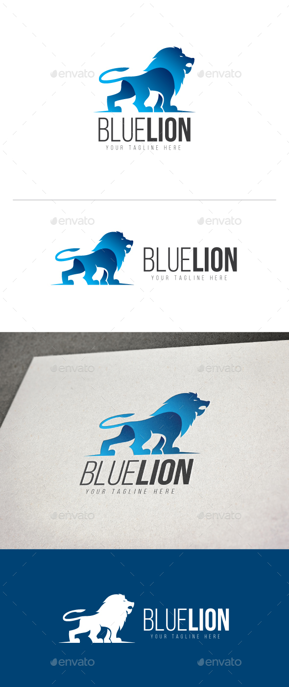 Blue Lion Logo