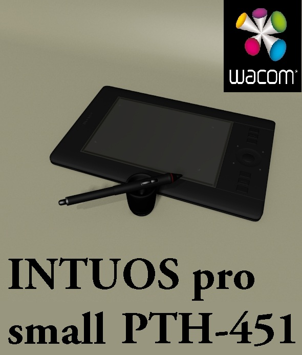 INTUOS pro small PTH-451 (WACOM) - 3DOcean Item for Sale