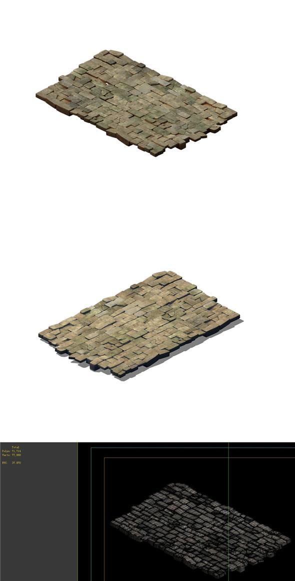 Desert Gobi - Inn floor - 3DOcean Item for Sale