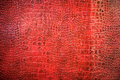 Background texture of red snake skin