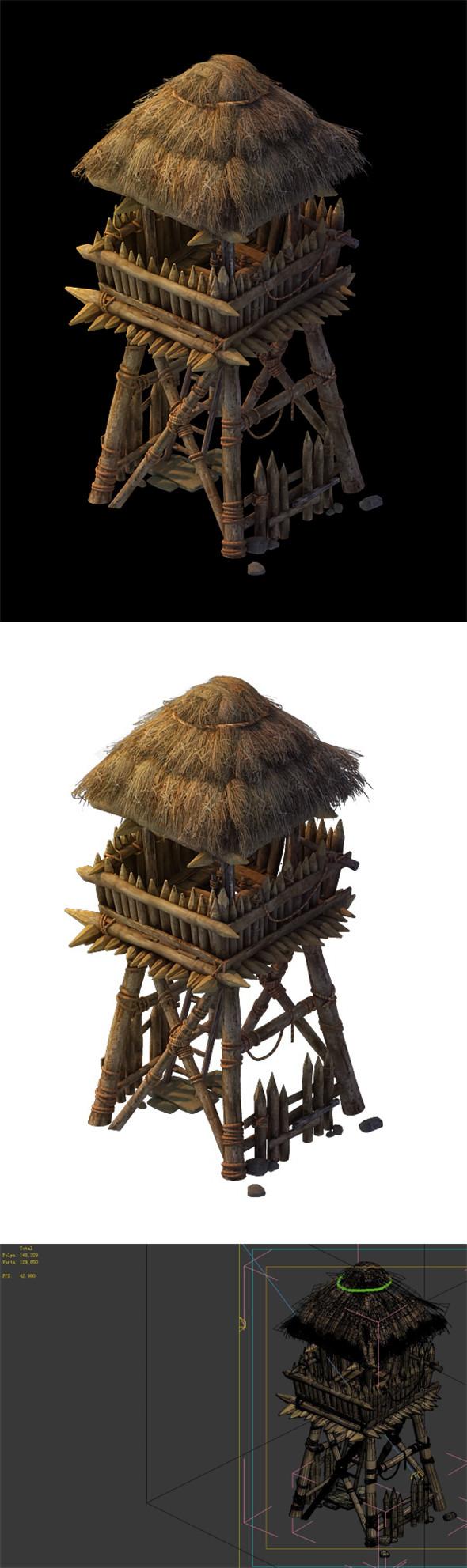 Desert Gobi - Outpost 06 - 3DOcean Item for Sale