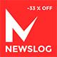 Newslog - Clean News & Magazine WordPress Theme