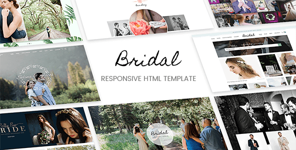 Bridal - Responsive HTML5 Template