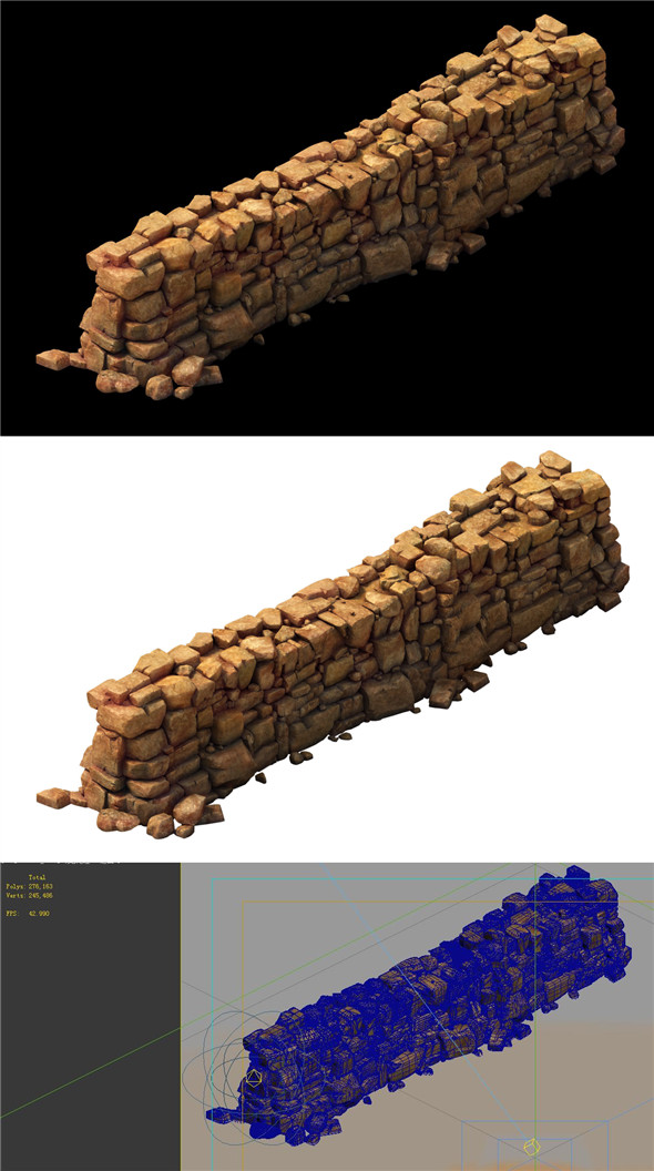 Desert Gobi - Earth Walls - 3DOcean Item for Sale