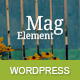 MagElement - Fresh & Modern WordPress Theme