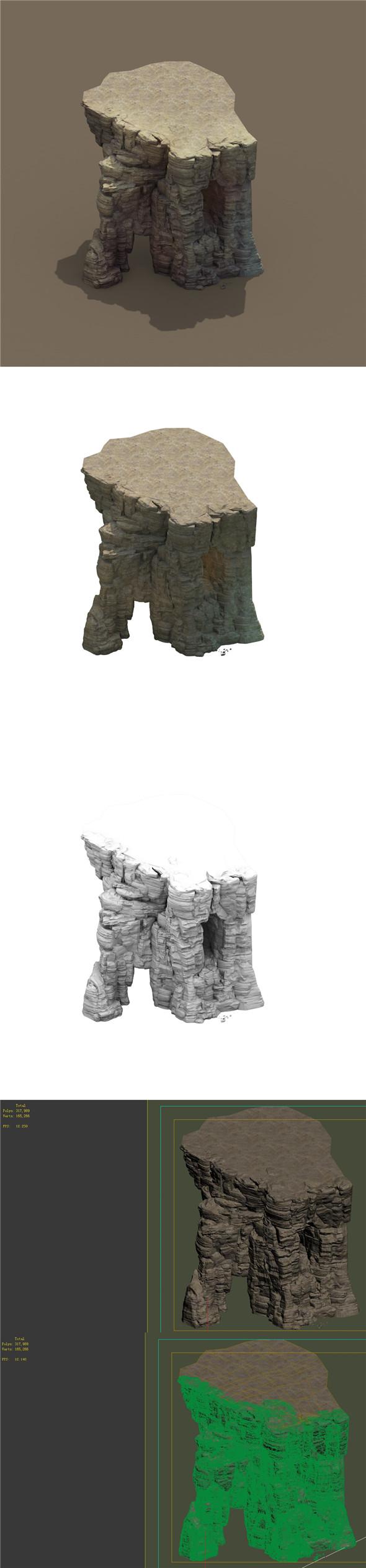 Mountain - Terrain 05 - 3DOcean Item for Sale