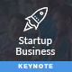 Startup Business Pitch Deck Keynote Template