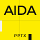 AIDA PowerPoint Template
