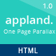 AppLand - One Page Parallax