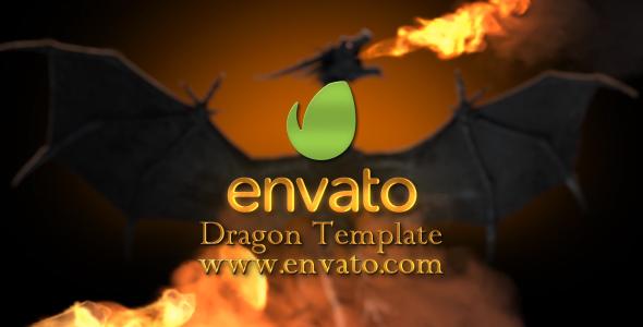 VideoHive Dragon Fire Intro 19779758