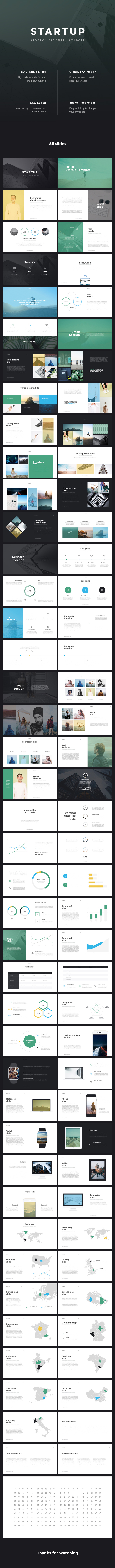 Startup Business Keynote Template
