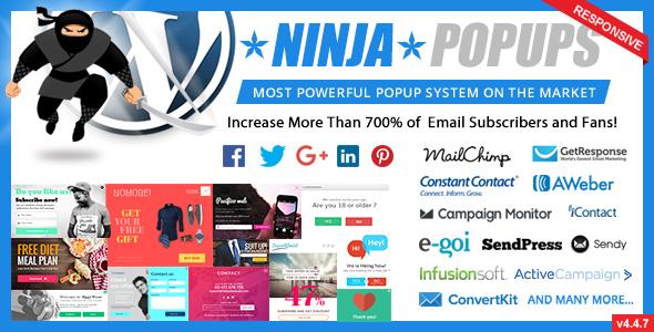 Ninja Popups for WordPress