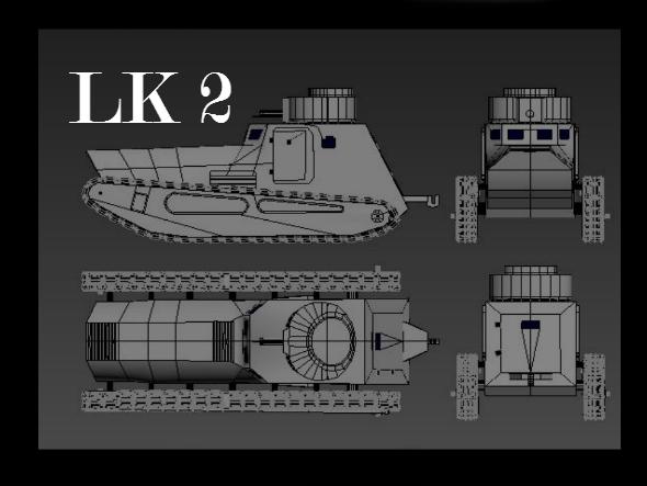 Tanks LK 2 - 3DOcean Item for Sale