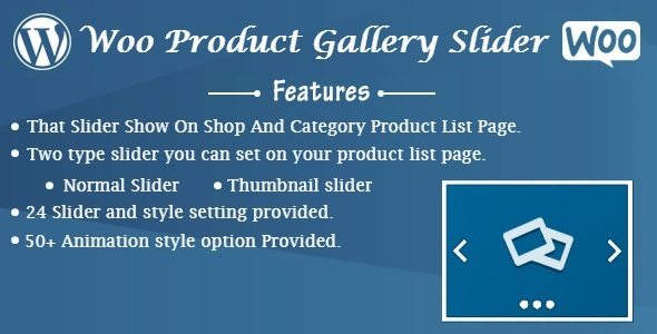 Woo Product Gallery Slider (WooCommerce) images