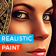 Realistic Oil Painting Photoshop Action