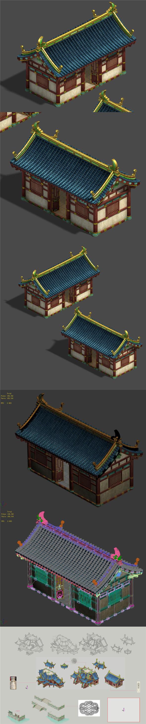 Market - City Building 01 - 3DOcean Item for Sale