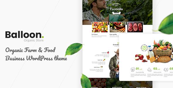 Balloon | Organic Farm & Food Business WordPress Themes