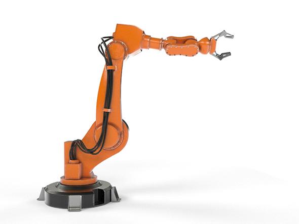 Industrial Robot Arm - 3DOcean Item for Sale