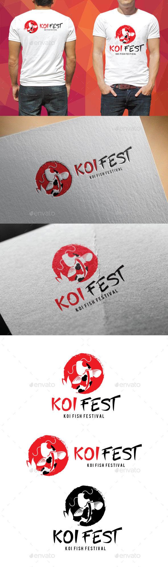 Koi Fest Logo